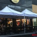 Master tendas para bares e restaurantes