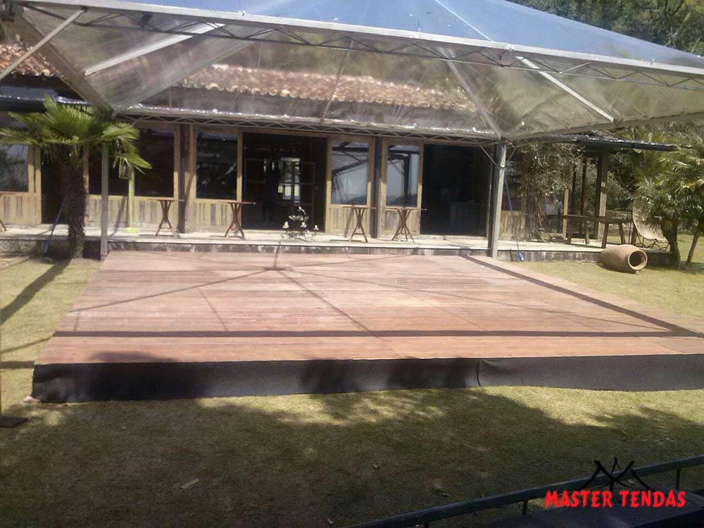Estrutura completa pisos e tendas cristal master tendas