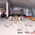 Estrutura completa pisos, arquibancada e palco - Master Tendas