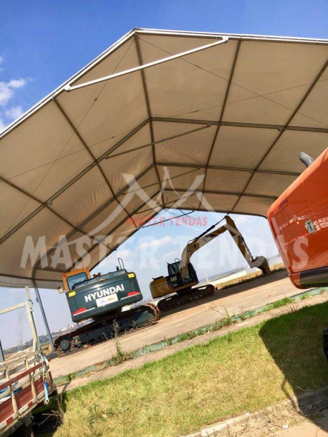 Modelo de tendas para logística